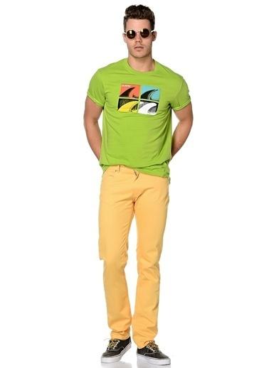 Volt Pantolon Sarı